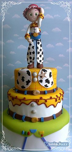 toy story cowboy cake