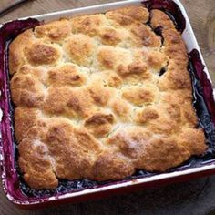 Blueberry Cobbler - Rachael Ray Every Day