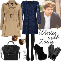 """""""Winter with Louis"""" by abbytamase on Polyvore"""