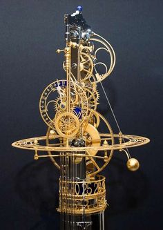 not an orrery, but the same kind of wizardry! The Automata Blog: Astonishing and artful kinetic clocks created by Miki Eleta