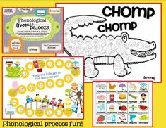 Phonological Process Palooza- 48 page download with fun activities for the most common processes!
