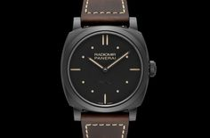 Officine Panerai Radiomir 1940 3 Days Ceramica PAM00577: ceramic case, minimalist dial, great appeal | Time and Watches