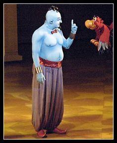 Aladdin Genie Costume