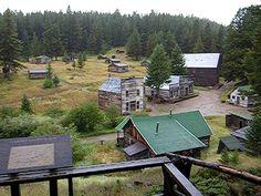 Garnet Ghost Town in Missoula, Montana: Mining town, last resident died in 1947