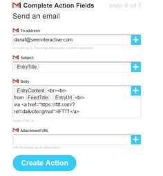 IFTTT recipes for marketers. Great ideas here.