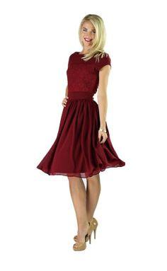 Valentine Knee Length Dresses