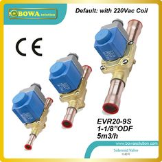larger cooling capcity Solenoid Valve with coil for tandem compressors unit or screw compressors unit Cheap Air Conditioner, Air Conditioner Parts, Refrigeration And Air Conditioning, Water Valves, Dryer Machine, Cooling System, Appliance Parts, Heat Pump, Tandem