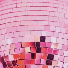 pink shiny disco ball party background by Sonja Lekovic - Stocksy United Collage Mural, Bedroom Wall Collage, Photo Wall Collage, Picture Wall, Picture Collages, Photo Rose, Pink Photo, Color Rosa Neon, Pink Color
