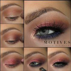Gorgeous Grey's | Motives Cosmetics #eyeshadow tutorial