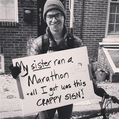 10 Laugh-Out-Loud Funny Spectator Signs from the Philadelphia Marathon - Be Well Philly