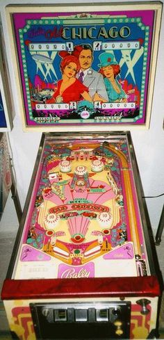 1976 Bally Old Chicago pinball