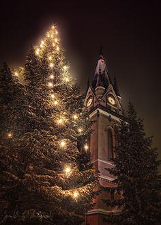 Christmas in Church of Kemi, Finland