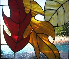 Fall leaf panel This is a panel of fall leaves to resemble the beautiful colors of fall seen in the New England States The panel measures 17.5