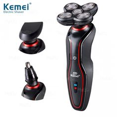 KEMEI KM6183 - Suya Dayanıklı Multifonksiyonel Erkek Sakal Tıraş Makinesi ve Bakım Seti - 571597 - 41
