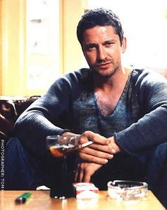 """Gerard Butler...oooo..ahhhh...badassery at it's finest..& yes i did just make up the word """"badassery (bad-ass-ery)""""...you're welcome, you can use it."""