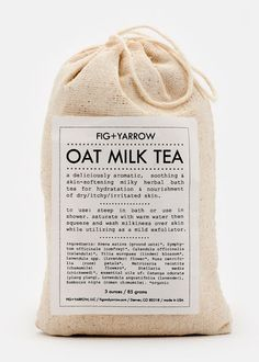 Oat Milk Herbal Tea Bath