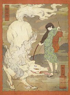 SessKag: The Oni Miko by janey-jane.deviantart.com on @deviantART