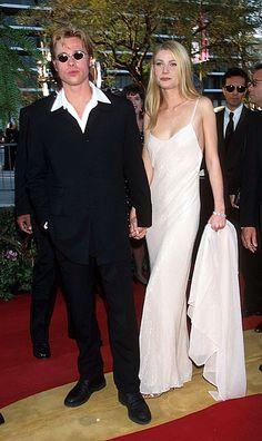 Gwyneth Paltrow and Brad Pitt's Red Carpet Reign (1994)