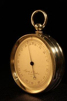 Maritime Hot Sale Antique Victorian Baker High Holborn London Leather Cased Pocket Barometer C1890 Other Maritime Antiques