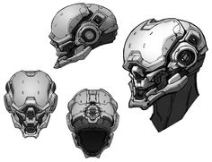 Halo 4 Art & Pictures,  Locus Helmet