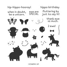 Stampin Up, Label Shapes, Silhouette Images, Animals Images, Zoo Animals, Wild Animals, Cards For Friends, Tampons, Say Hi