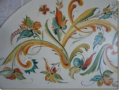 Knitting-rosemaler: Two nearly FO's -- One Rosemaling!