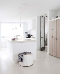 """gravityhome: """" White home in The Netherlands   photos by Jeltje Fotografie Follow Gravity Home: Blog - Instagram - Pinterest - Facebook - Shop """""""