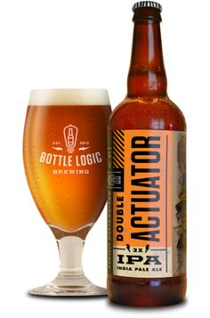 Bottle Logic Brewing (Anaheim, CA) Double Actuator Double IPA 10% ABV