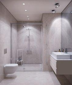 Bathroom Spa, Bathroom Toilets, Bathroom Interior, Modern Contemporary Bathrooms, Dream Shower, My Dream Home, Room Inspiration, Architecture Design, House Design
