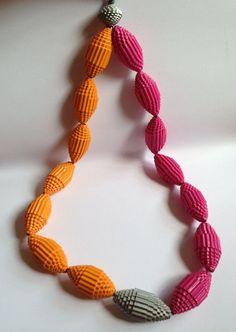 Recicle! Reuse! Refaça! DIY : Lindas bijuterias de papel reciclado | Faça você mesmo | De Frente Para O Mar