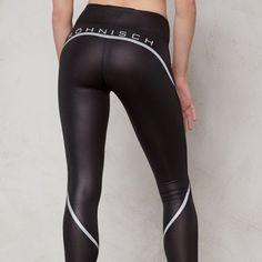 Black Tights, Sport Wear, Workout Wear, Leather Pants, Leggings, Sexy, How To Wear, Fitness Wear, Women