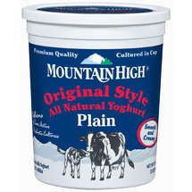 Mountain High Coupon - my favorite yoghurt...they even spell it cool!