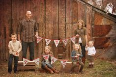 Rustic outfit ideas for family photos Browns, whites, cranberries, greens