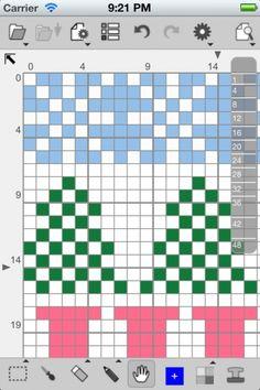 [iPhone][iPad][無料] StitchSketch LE | 人気の図案作成ソフトウェエアKG-Chart for Cross Stitch/Bead Weavingの作者が贈る、モバイル版図案作成ソフトウェアです。