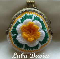 Instant Download Crochet Pattern pdf file  by LubaDaviesAtelier, £1.99