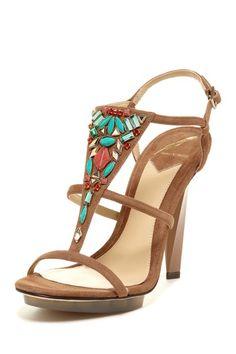 Beaded Donosa High Heel