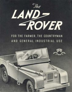 The first Land Rover brochure (1948)