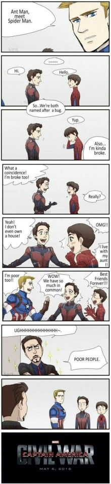 Damg it, Tony #marvel #civilwar