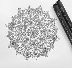 «Mandala for Danielle Cudworth (all designs are subject to copyright) to order… Mandala Tattoo Design, Dotwork Tattoo Mandala, Tattoo Designs, Tattoo Henna, Mandala Drawing, Henna Designs, Tattoo Ink, Future Tattoos, New Tattoos