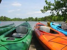 I'm not an outdoorsy kinda gal, but I love kayaking.  Only made it once this past summer due to scheduling.  I used to go every weekend in the past.  I hope next year is different!