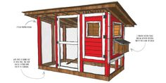 We don't stop at houses... we do Chicken Coops too! Well really only for a high school scholarship fundraiser!!