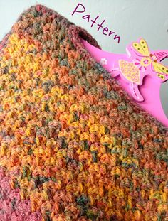"""*** This is a listing for a .pdf crochet pattern ONLY. If youre interested in the finished item, please ask me*** I created this funny """"patchwork"""" Harlequin sweater for my daughter Alice. The idea was to crochet the piece of the torso using a beautiful stitch (I used the Suzette"""