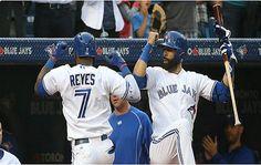Jose Reyes y Bautista impulsan a Toronto con jonrón cada uno