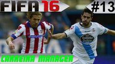 FIFA 16 - Carreira Manager #13 Atlético de Madrid