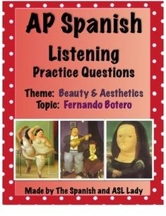"AP Level Multiple Choice Questions for Argentine Cartoon Episode of ""El Asombroso Mundo de Zamba"" about Fernando Botero.  Here's the link to the authentic source:  https://www.youtube.com/watch?v=bNcHgNnbQ-s"