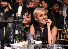 Joan Jett and Miley Cyrus