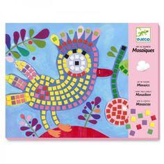 Djeco Kreativset Mosaik Bilder Vogel und Marienkäfer basteln