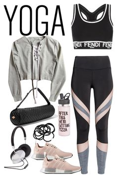 """Untitled #4495"" by theeuropeancloset ❤ liked on Polyvore featuring Fendi, M Z Wallace, ban.do, H&M and Forever 21"