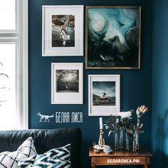 Оформление гостиной в голубом цвете /белаялиса.рф рамки фоторамки…