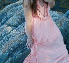 This Pretty As A Peach Maxi Dress from LuLu*s Is Sure to Be Picked as a summer favorite!Www.thebellelifeblog.com